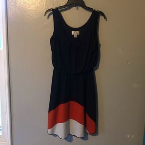 Navy Sweet Storm dress